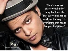 Bruno Mars - a detour led to a breakthrough success