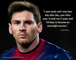 Lionel Messi is an exceptional football player, focusing on his football skills rather than his short stature.